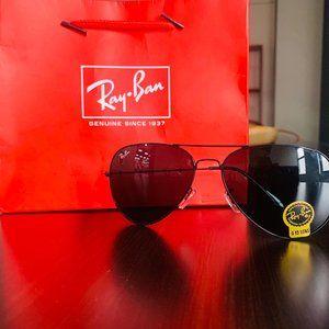Ray-ban gray green polarized lenses Sunglass 3026